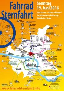 Fahrrad Sternfahrt 2016